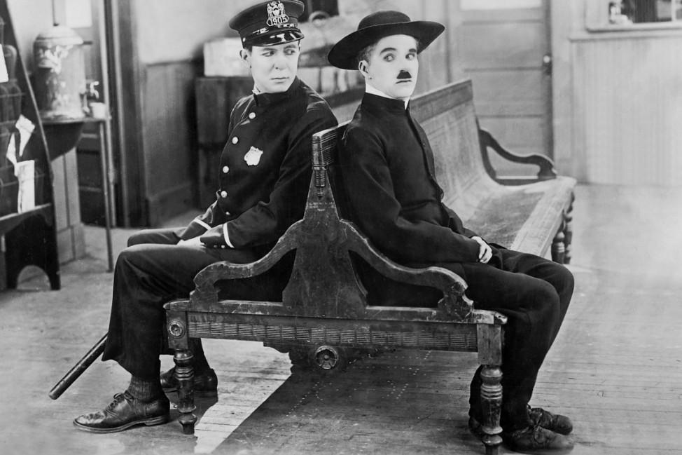 """Charles Chaplin in """"Der Pilger"""", 1923"""
