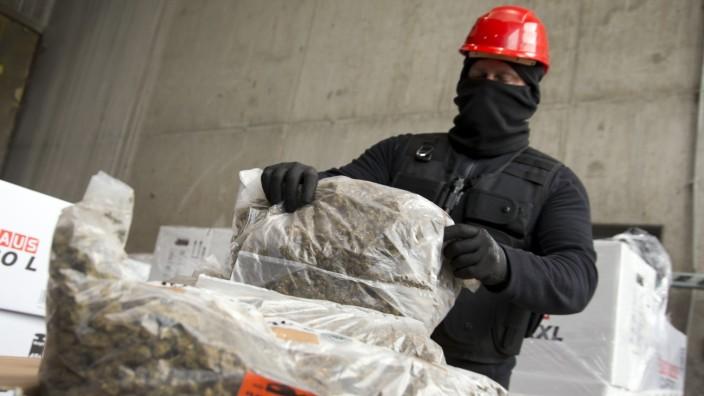 Olching: Vernichtung Drogenfund / Müllverbrennung