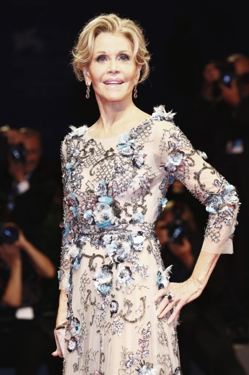 Jane Fonda attending the Our Souls at Night premiere at the 74th Venice International Film Festival
