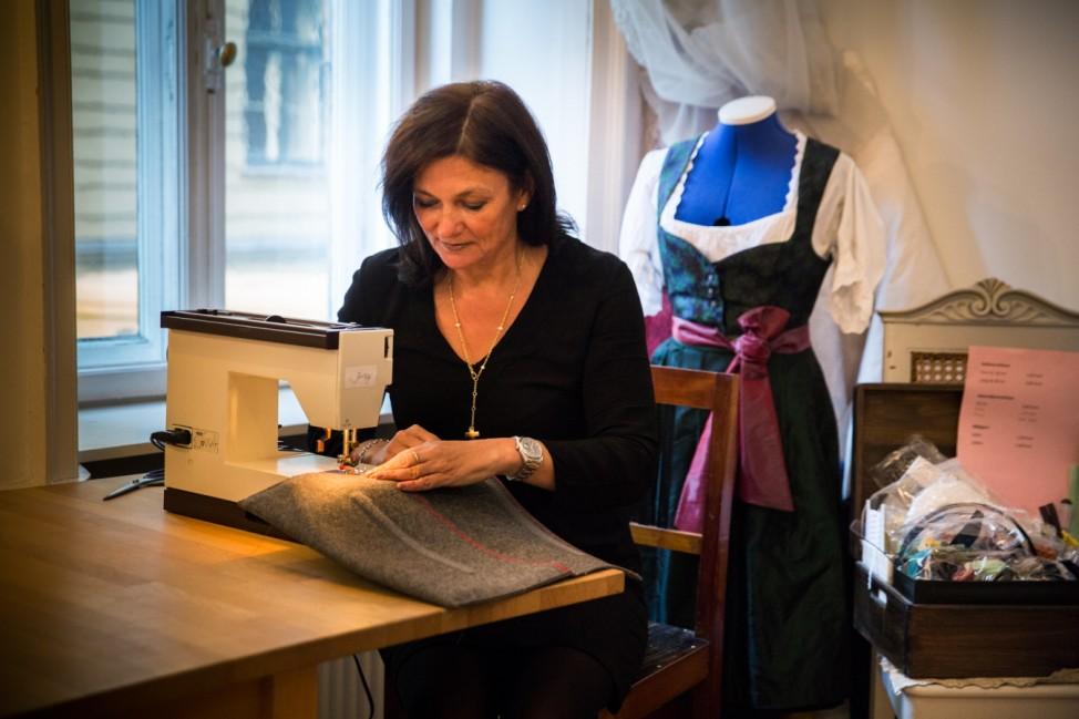 München: Laptop Tasche nähen, Judith Willisau, Nähatelier, Thierschstraße 31