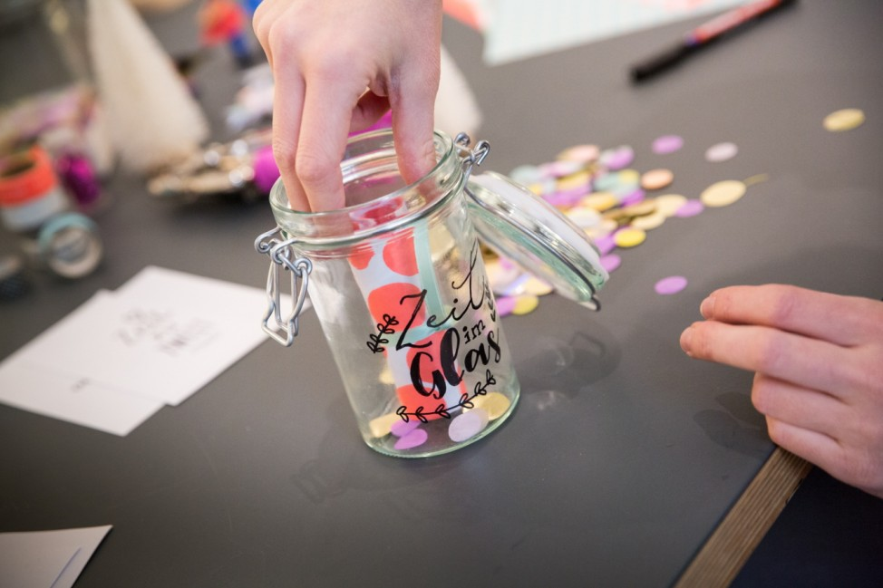 München: Julia Romeiß, Do it Yourself Geschenke, Geschenk im Glas