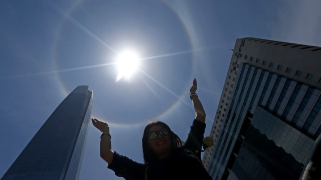 Sonnenhalo in Chile