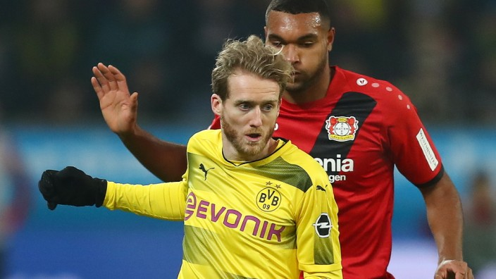 Bayer 04 Leverkusen v Borussia Dortmund - Bundesliga; André Schürrle gegen Bayer Leverkusen