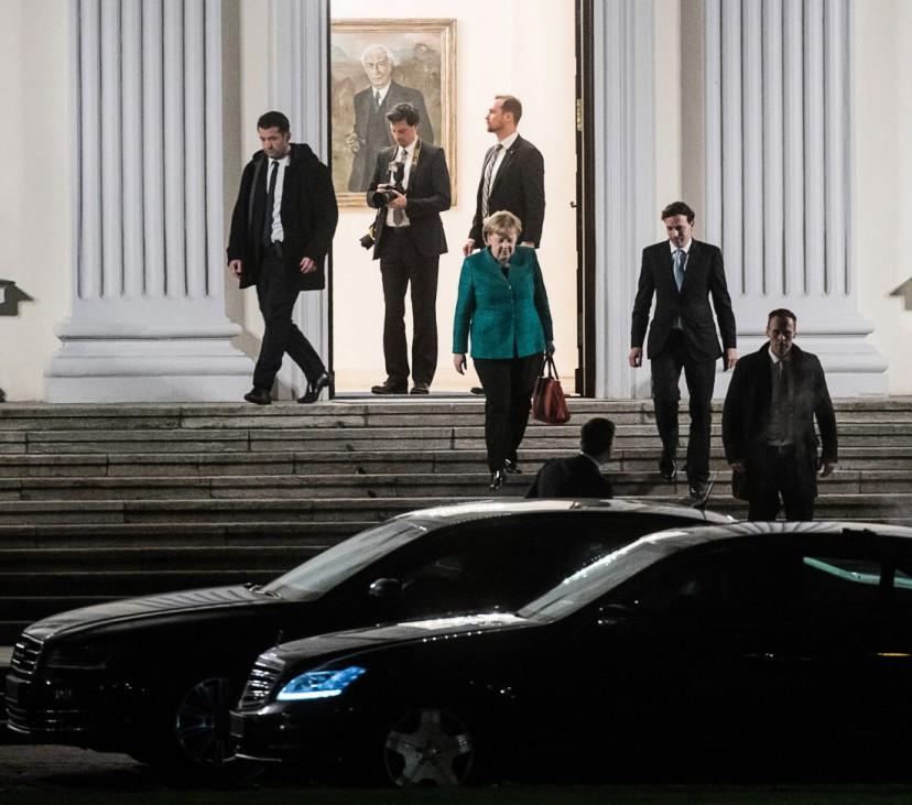 Spitzentreffen beim Bundespräsidenten