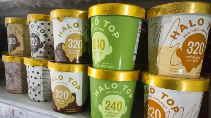 Maker of popular Halo Top ice cream explores a sale Containers of Eden Creamery s Halo Top ice cream