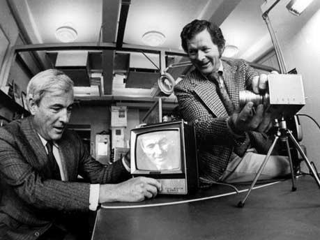 Willard Boyle und George Smith, Bell Labs