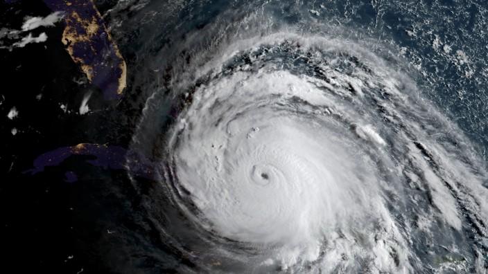 Hurrikan: Der Hurrikan Irma war der zweitstärkste Wirbelsturm, der je über dem Atlantik gesichtet wurde.