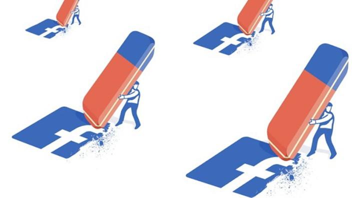 Soziale Netzwerke: Soziale Netzwerke wie Facebook könnten aus Angst vor Sanktionen zu viele Inhalte löschen, befürchten Kritiker des neuen Netzgesetzes. Illustration: Sead Mujic