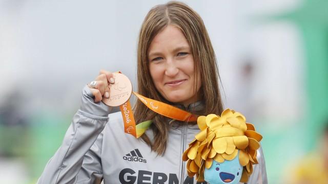 Bilder des Tages SPORT Rio de Janeiro Paralympics Fahrrad Denise Schindler GER holt die; Denise Schindler
