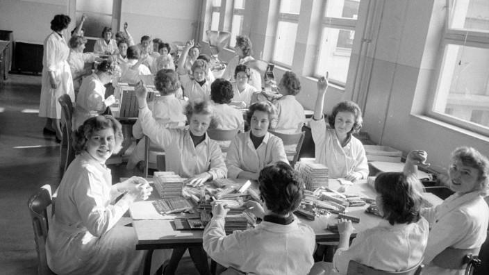 Grippeimpfung, 1960