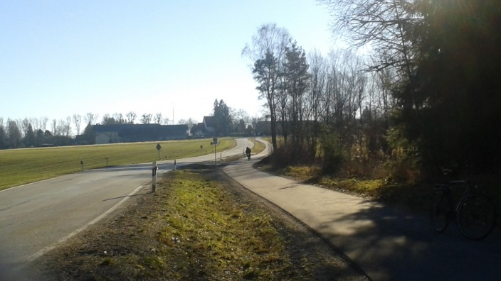 Radweg Oberbiberg