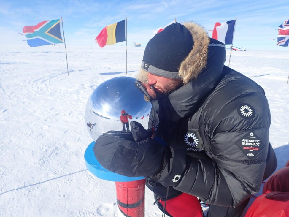 Scott Sears Becomes Youngest Person To Trek Solo To South Pole