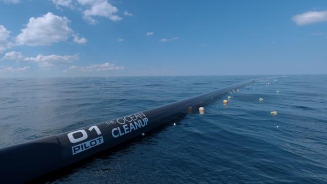 "Plastikmüll im Meer: das Projekt ""The Ocean Cleanup"""