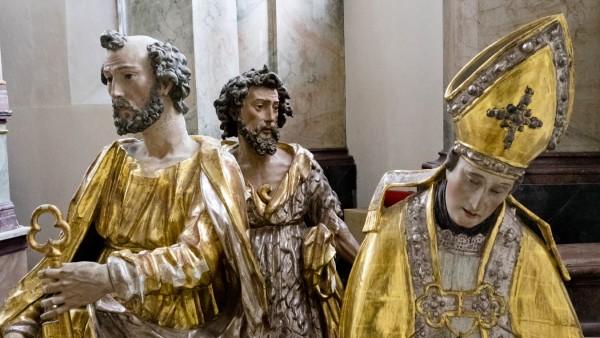 St. Ägidius Grafing Heiligenfiguren