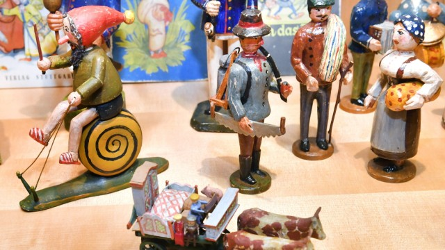 Weßling Pfarrstadl Spielzeug Ausstellung