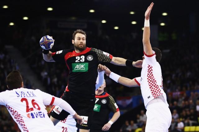 Germany v Croatia - 25th IHF Men's World Championship 2017; Steffen Fäth 2017