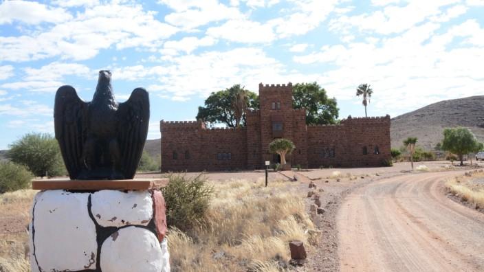 Namibia Duwisib Castle Foto: Dominik Prantl