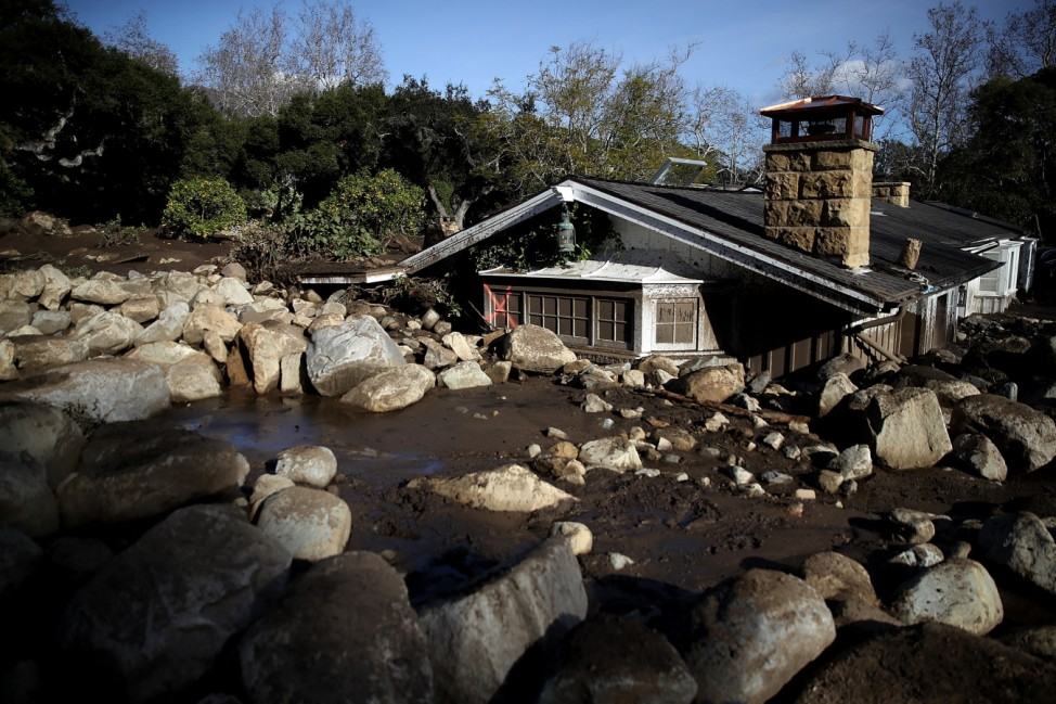 Mudslides Kill Over 10 People In Montecito, Where Wildfire Scorched Hillside