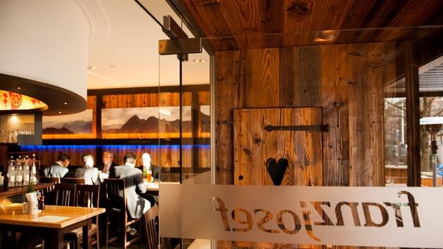 """Restaurant """"Franz Josef"""" in München, 2014"""
