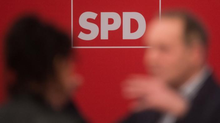 Landesparteitages der SPD Sachsen-Anhalt