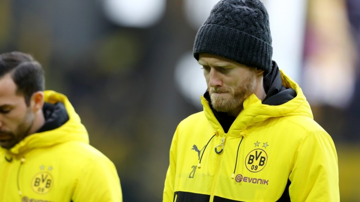 Borussia Dortmund v FC Schalke 04 - Bundesliga; André Schürrle von Borussia Dortmund