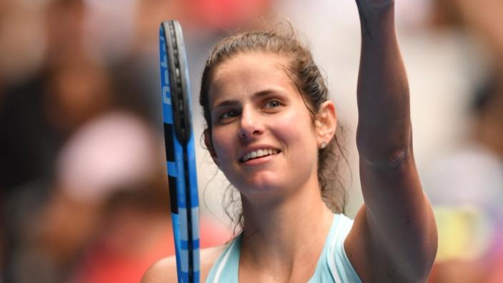 Tennis: Julia Görges erreicht erstmal in ihrer Karriere die Top Ten