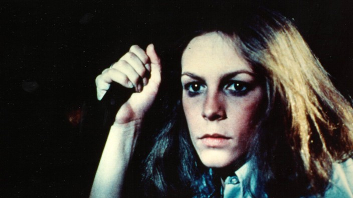 1978 Halloween Resurrection Movie Set PICTURED Actress JAMIE LEE CURTIS as Laurie Strode Oct