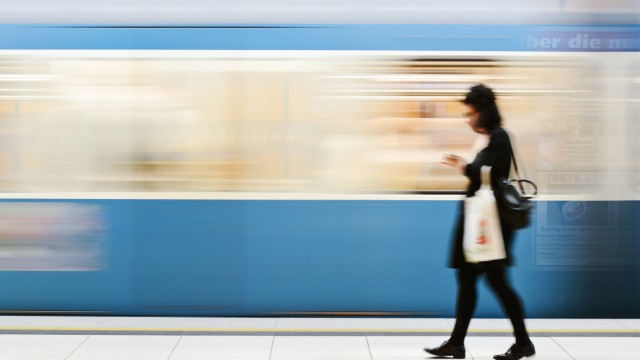 U-Bahn am Marienplatz