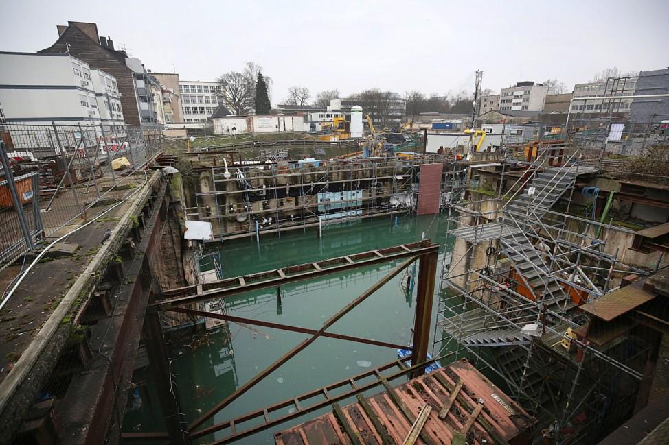 Einsturzstelle Stadtarchiv Köln
