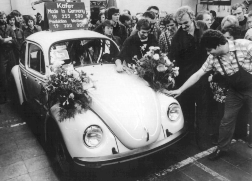 Der letzte in Europa produzierte VW-Käfer
