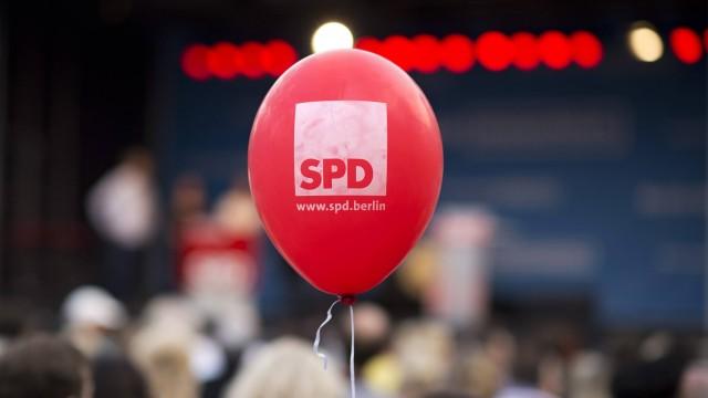 Wahlkampfabschluss SPD Berlin DEU Deutschland Germany Berlin 16 09 2016 Mitglieder und Unterstue