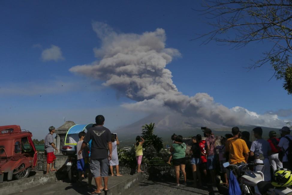 Aktivster Vulkan der Philippinen