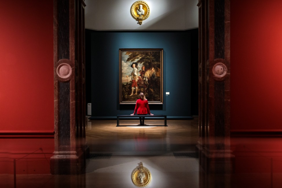 Preview Of The Exhibition Of Van Dyck Paintings Of Charles I