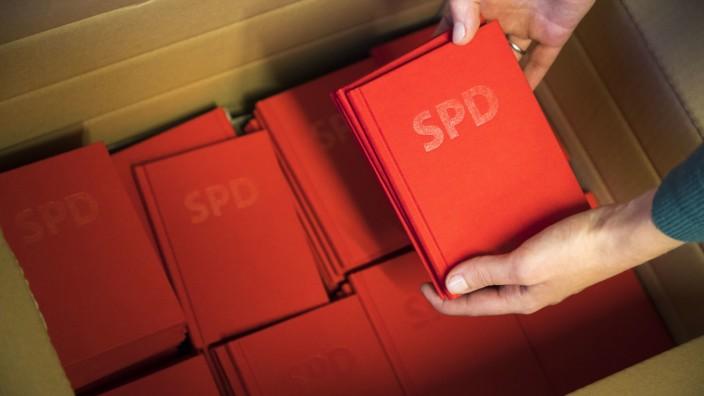 Parteibücher der SPD
