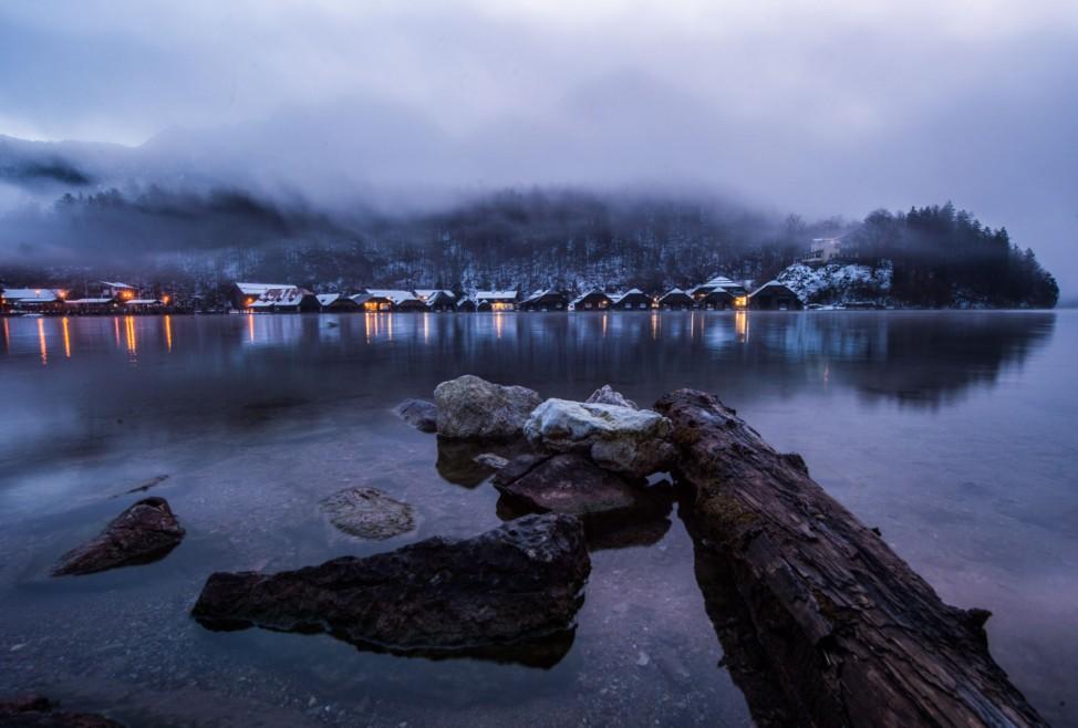 Nebel auf dem Königssee