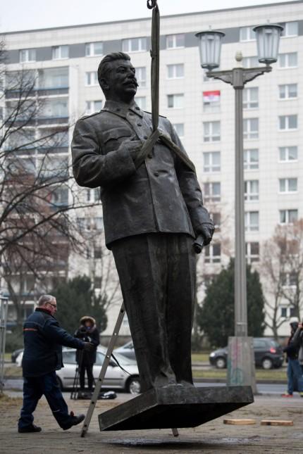 Ausstellung über Stalin-Kult in der frühen DDR