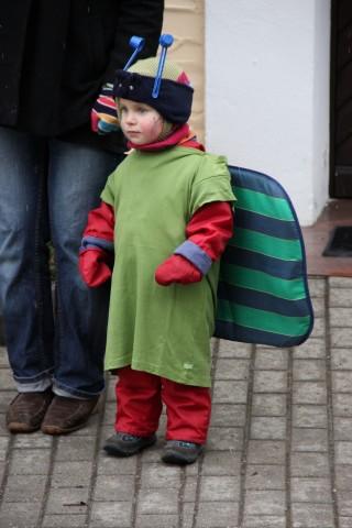 Schmetterlink - Kostümidee für SZ Familie Fasching