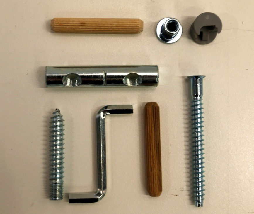 FILE PHOTO: Tools and spare parts for furniture of Swedish retailer IKEA are pictured in Taufkirchen near Munich