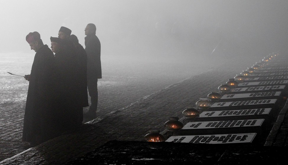 Jahrestag zur Befreiung des Konzentrationslagers Auschwitz