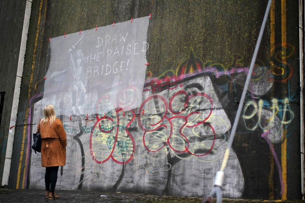 Hullensians Save New Banksy From Being Defaced