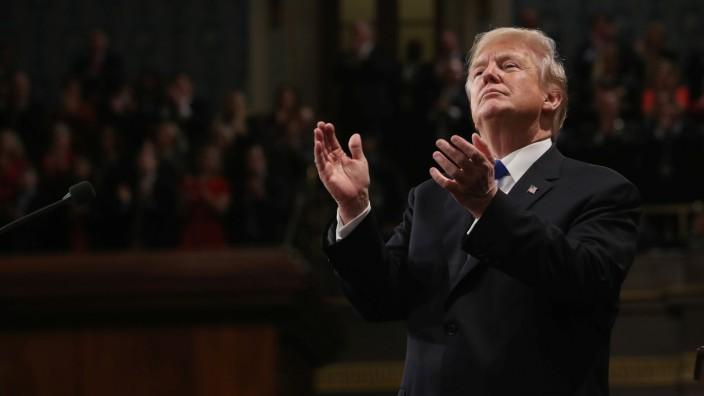 Donald Trump Lage der Nation Rede