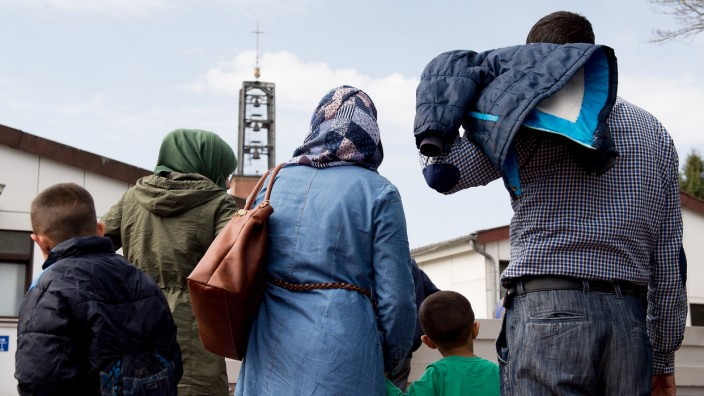 Flüchtlinge Ankerzentrum