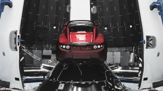 World's most powerful rocked Falcon Heavy soon ready for demonstration flight, Cape Canaveral, USA - 06 Dec 2017