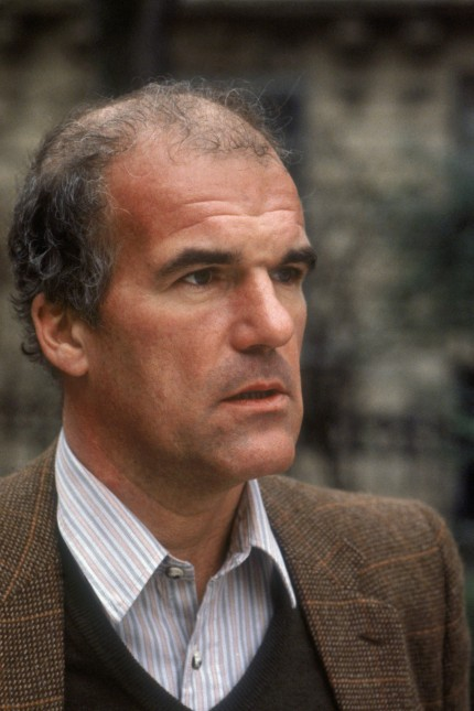 Portrait of Harry Mathews le 22 fevrier 1981 AUFNAHMEDATUM GESCHÄTZT PUBLICATIONxINxGERxSUIxAUTxHU