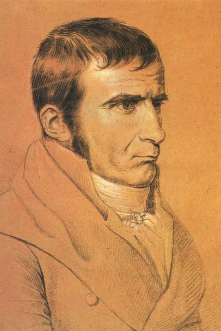 Johann Gottfried Seume (Kreidezeichnung von Wilhelm von Kügelgen, um 1805)