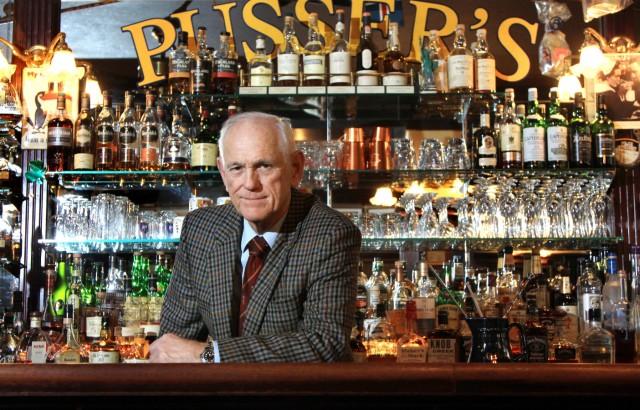 """Bill Deck in der """"Pusser's Bar"""", 2011"""
