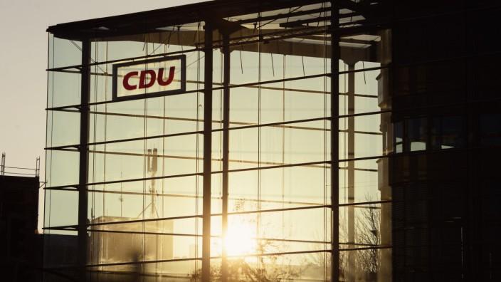 CDU-Parteizentrale Konrad-Adenauer-Haus in Berlin