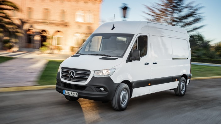 Mercedes-Benz Sprinter 2018 Weltpremiere