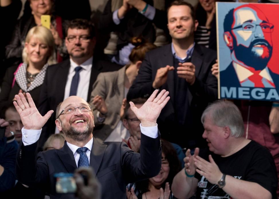 SPD candidate for chancellor Martin Schulz