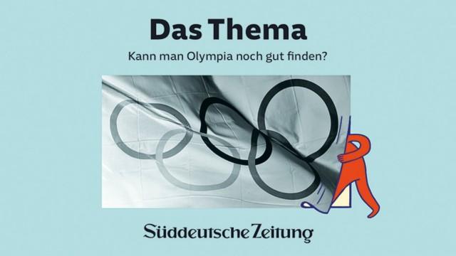 "Sportpolitik: Kann man Olympia noch gut finden? Das diskutieren SZ-Autoren im Podcast ""Das Thema"" sz.de/podcast."